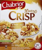 Céréales muesli crisp aux 4 noix - Product - fr