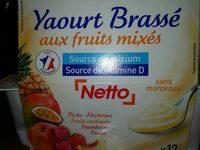 Yaourt Brassé aux Fruits Mixés - Product - fr