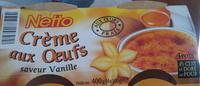 Crème aux oeufs, saveur vanille - Produit - fr