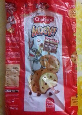 Brioches (x 8) aux Pépites de Chocolat - Product