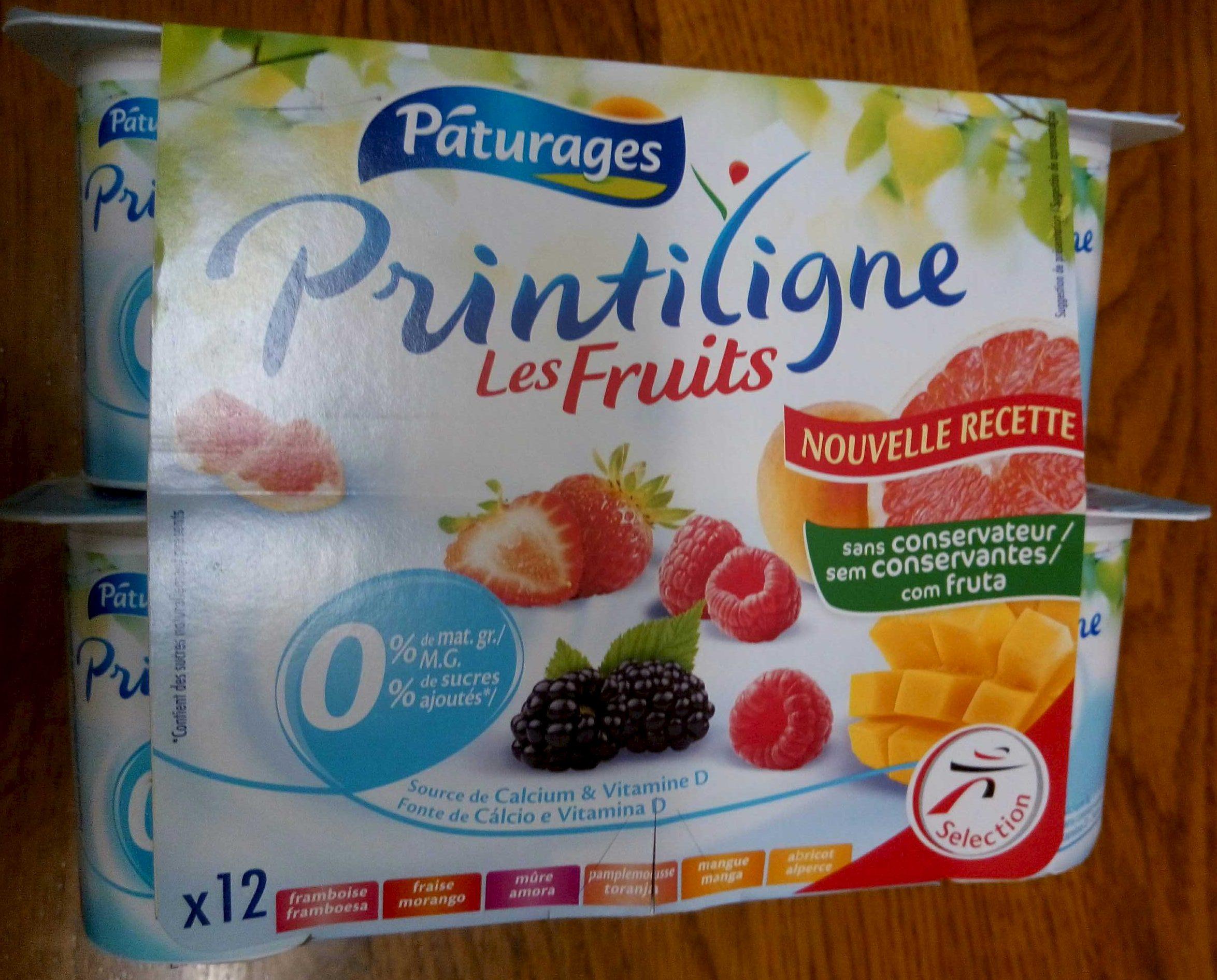 Printiligne Les Fruits (0 % M.G.) - Produit - fr