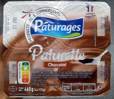 Paturette Chocolat - Produit - fr