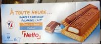 À toute heure… Barres chocolatées fourrées lait choco crème - Product