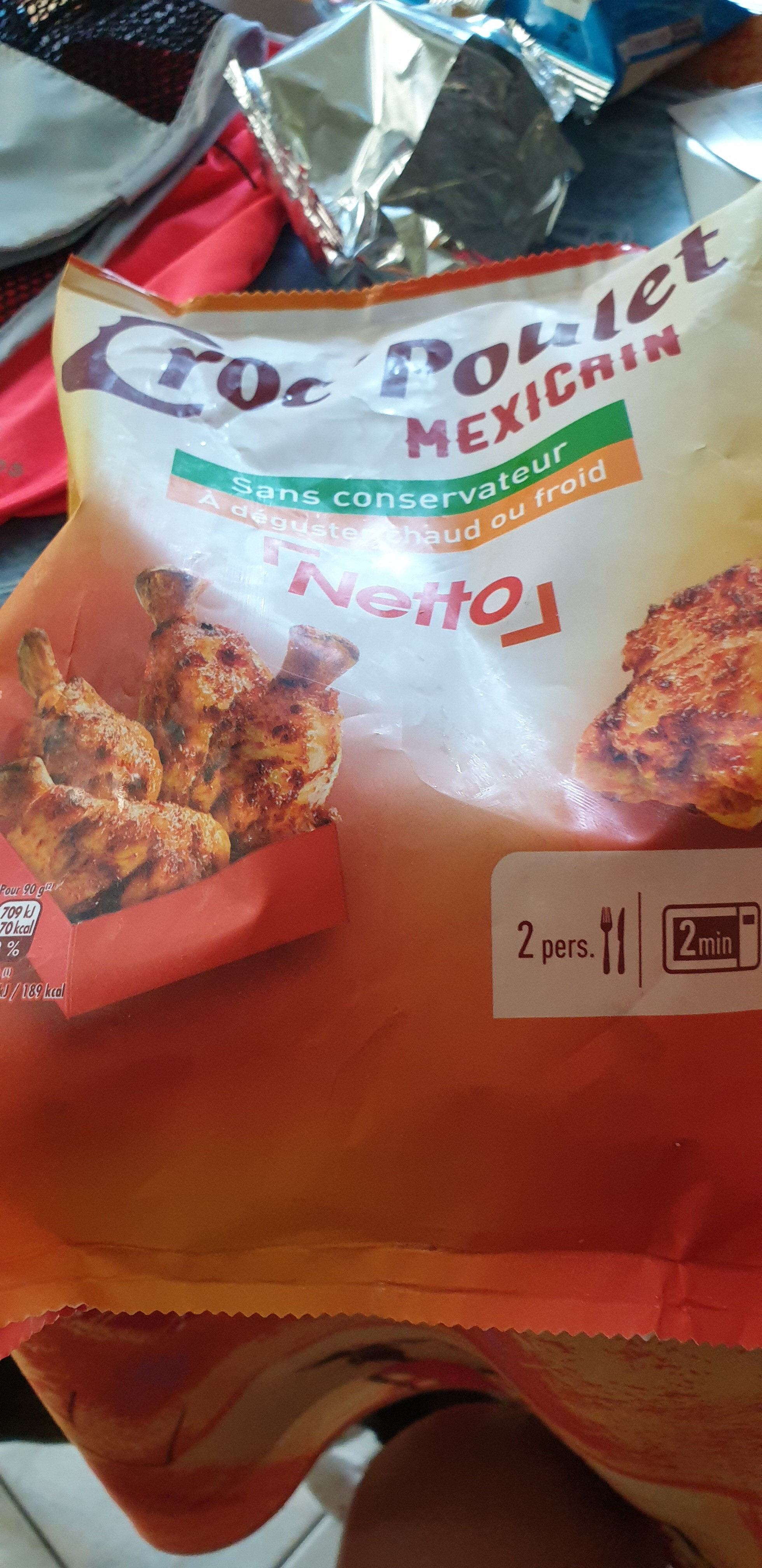 Chicken Wings à La Mexicaine. 250 g. - Product - fr