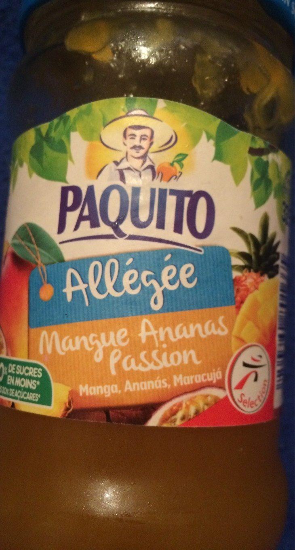 Confiture Allégée mangue ananas passion - Product - fr