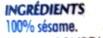 Sésame - Ingrédients - fr
