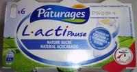 L.actiPause, Nature Sucré (x 6) - Produit - fr