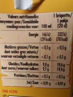 Orange - Ingrédients - fr