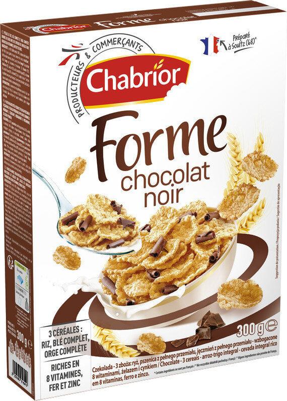 Céréales forme chocolat noir - Produit - fr