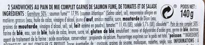 Sale noir - Ingrédients - fr