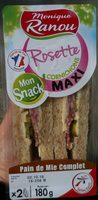 Mon Snack Rosette Cornichons Maxi - Produit - fr
