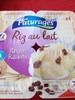 Riz au lait rhum raisins - Product