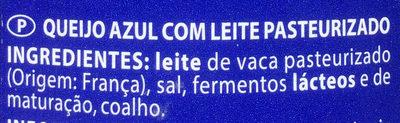 Fromage le bleu - Ingredientes - pt