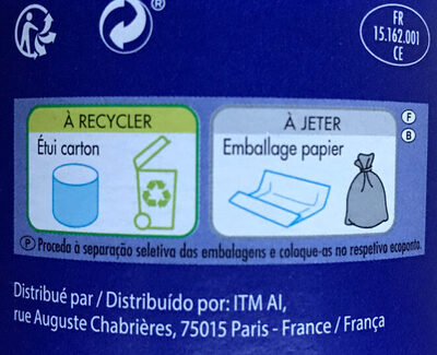Fromage le bleu - Recycling instructions and/or packaging information - fr