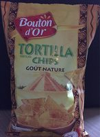 Tortilla Chips, Goût Chili, Poids Total 150 Grammes,Bouton D'or - Product