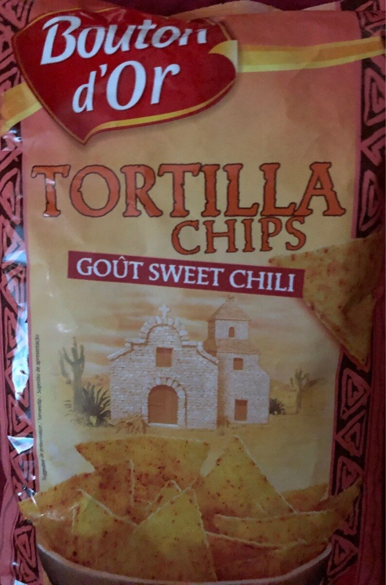 Tortilla Chips, Goût Sweet Chili, Bouton D'or - Produto