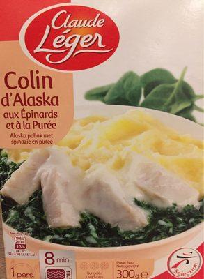 Colin d'Alaska aux Épinards et à la Purée - Produkt