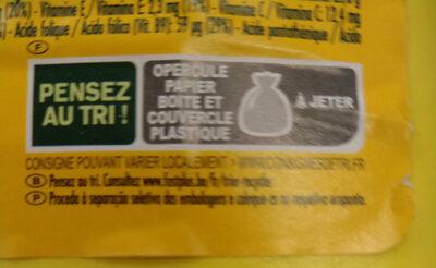 Choko dej - Instruction de recyclage et/ou informations d'emballage - fr