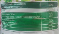 100% Pur jus Pomme - Nutrition facts