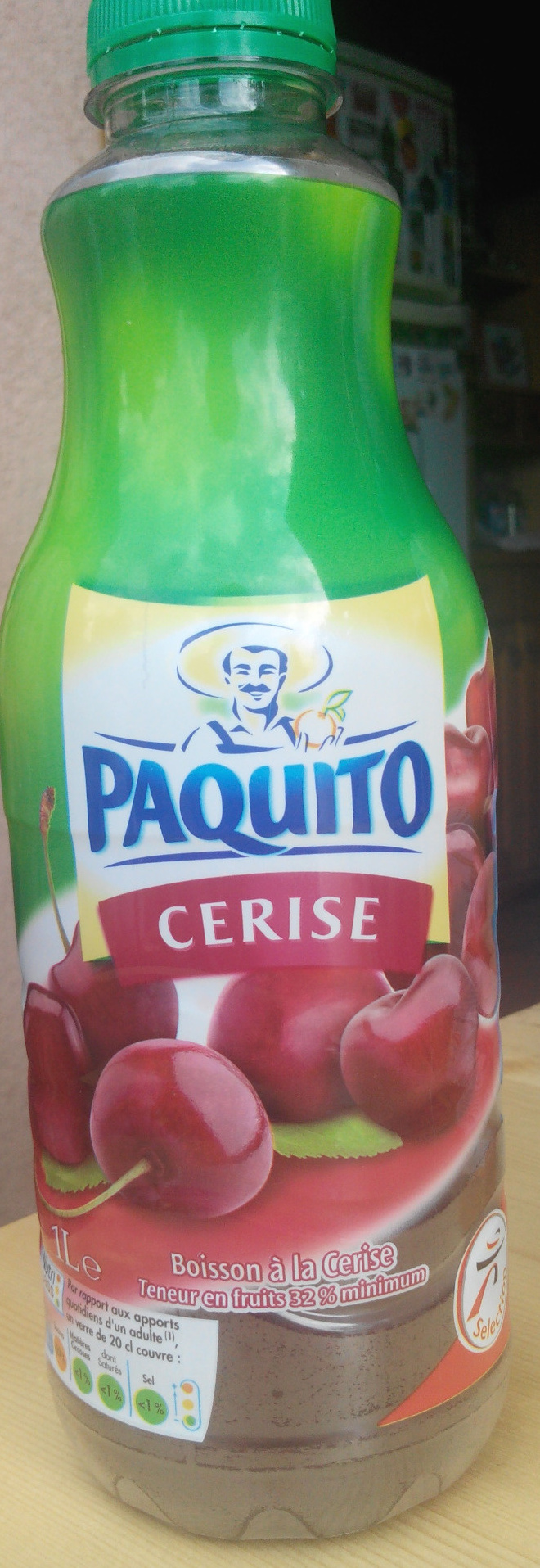 Paquito cerise - Product