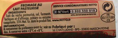 Carré - Ingrédients - fr