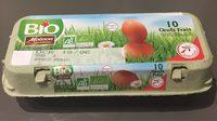 10 œufs frais - Produit - fr