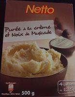 Purée a la creme et noix de muscade - Product - fr