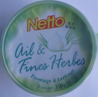 Ail & Fines Herbes (24 % MG) Fromage à tartiner - Produit