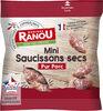 Mini saucissons secs pur porc - Produit