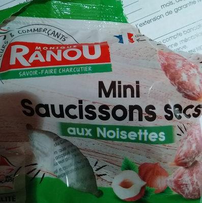 Mini Saucissons Secs au noisettes - Produit - fr