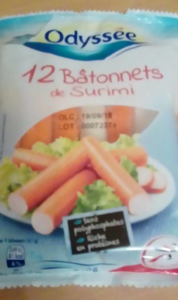 12 Bâtonnets de surimi - Product