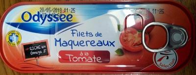 Filets de Maquereaux Tomate - Produit