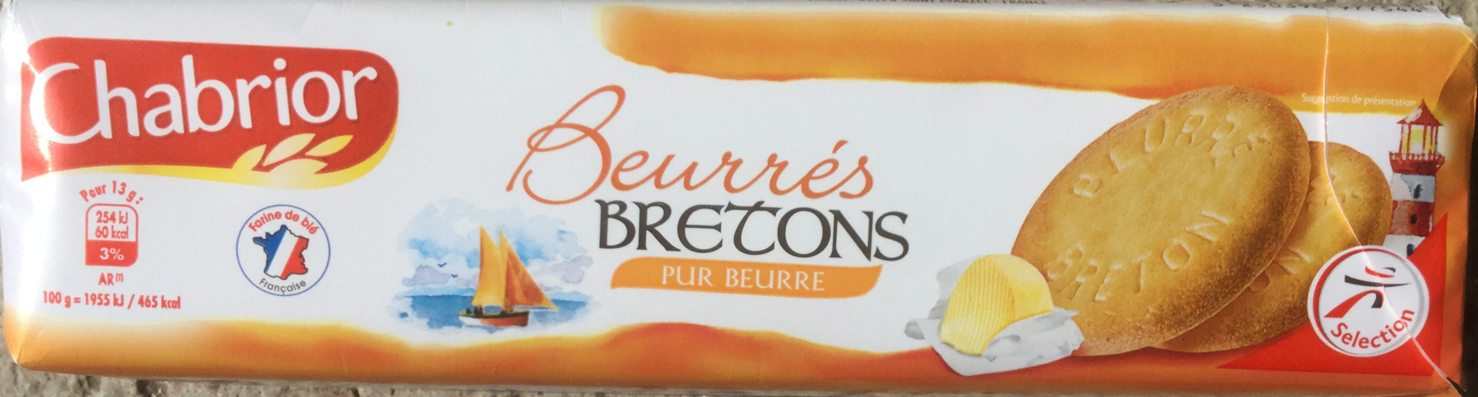 Beurrés Bretons Pur Beurre - Produit - fr