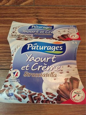Yaourt et Crème Stracciatella - Produit