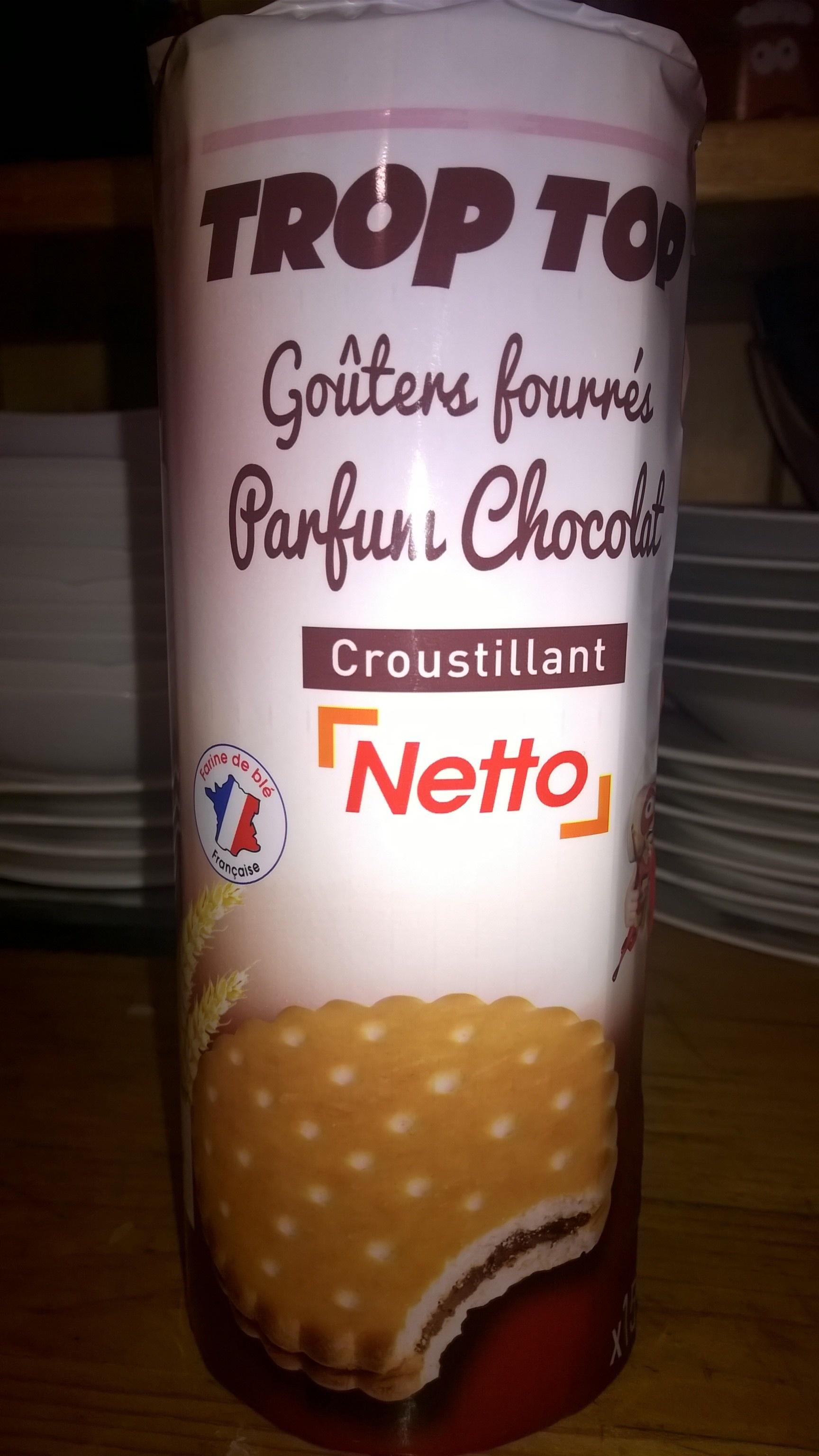 Trop Top Goûters Fourrés Parfum Chocolat - Product