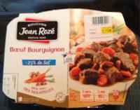 Bœuf Bourguignon -25% de Sel - Produit