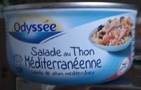 Salade au Thon/Riz Méditerranéenne - Produit