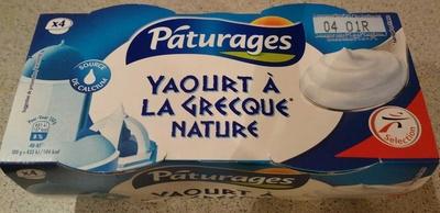 Yaourt à la grecque nature - Product