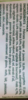 Poêlée de Printemps - Ingredients - fr