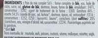 Rosette - Ingrédients - fr
