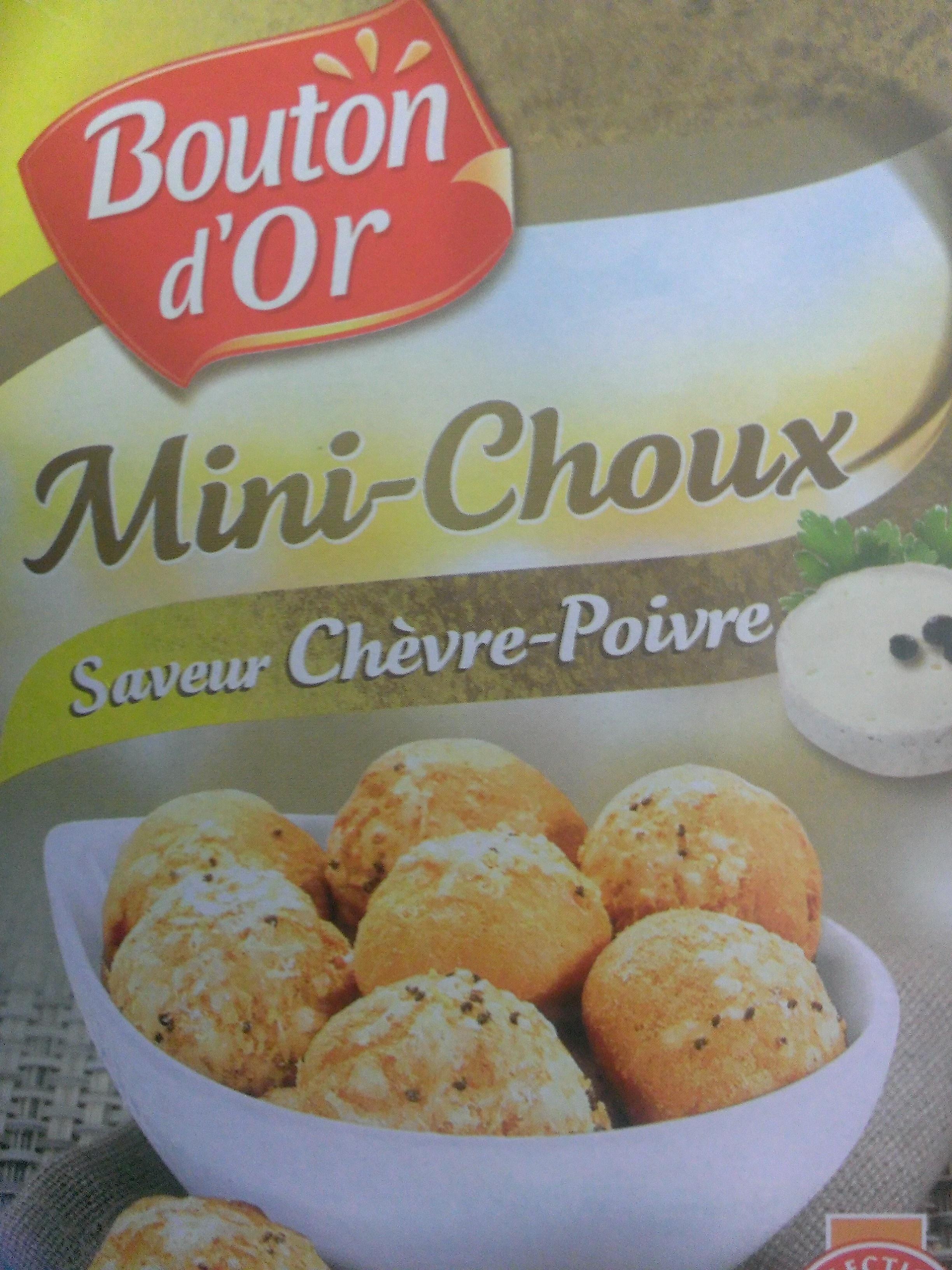 Mini-Choux Chèvre-Poivre - Product