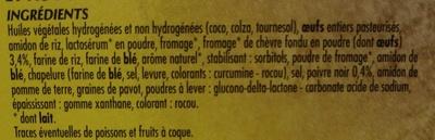 Mini-Choux Chèvre-Poivre - Ingredients