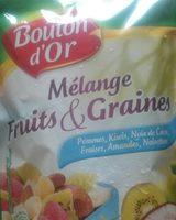 Mélange fruits & graines - Product