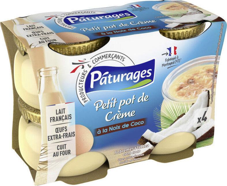 Petit pot de crème à la Noix de coco - Produit - fr