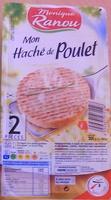 Mon Haché de Poulet (2 Pièces) - Produit