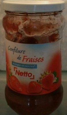 Confiture de Fraises Allégée - Ingrediënten - fr