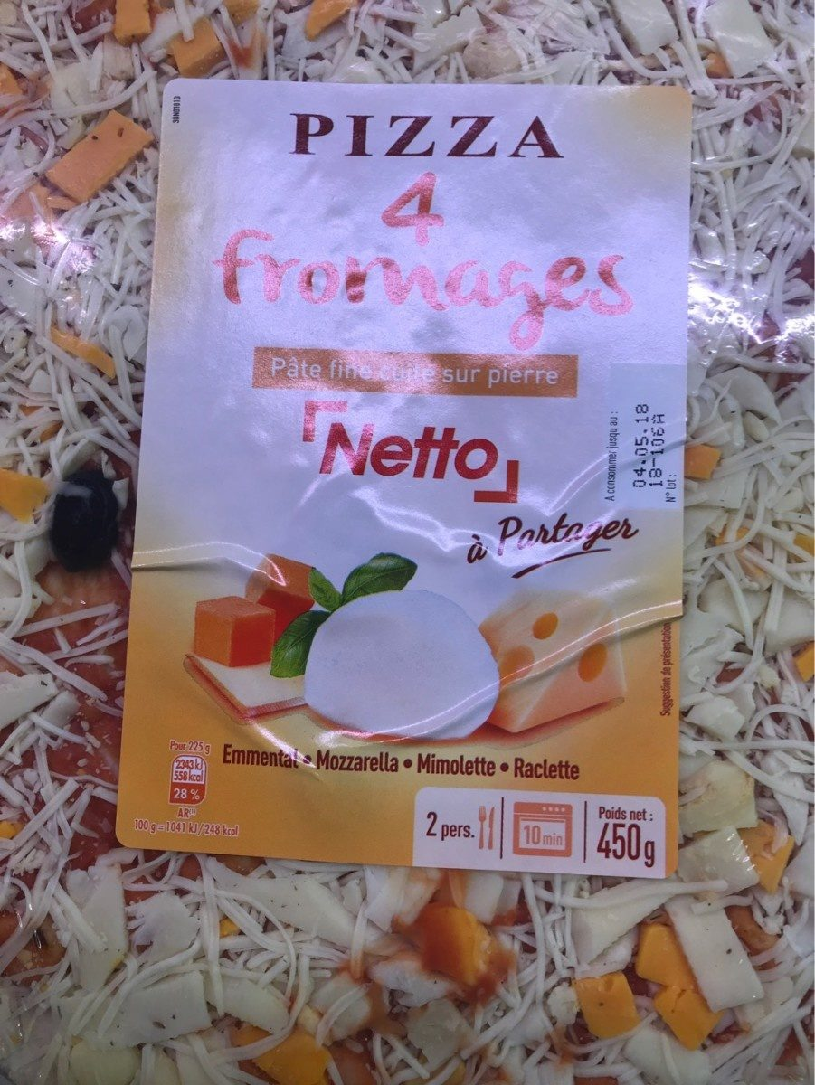 Pizza Fromage - Product