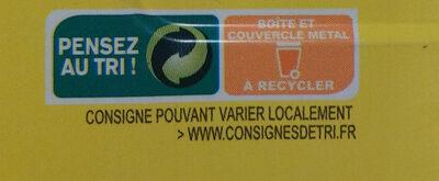 Sardines au citron - Instruction de recyclage et/ou information d'emballage - fr