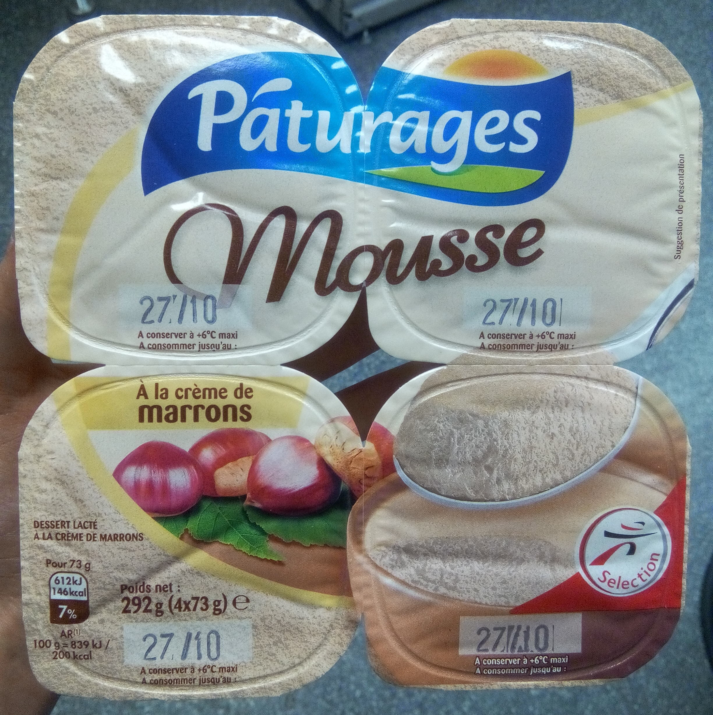 Mousse à la crème de marrons - Product
