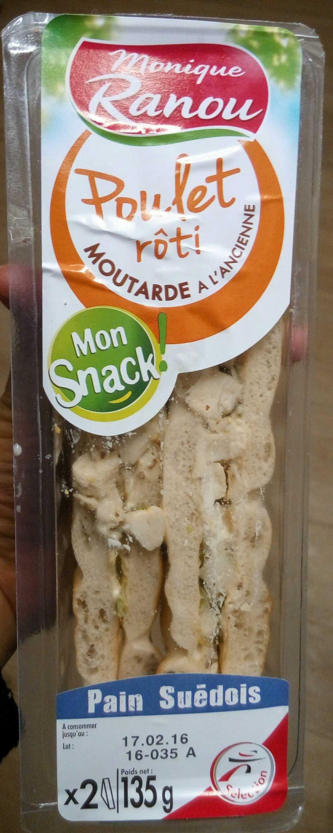 Poulet rôti moutarde à l'ancienne - Product - fr